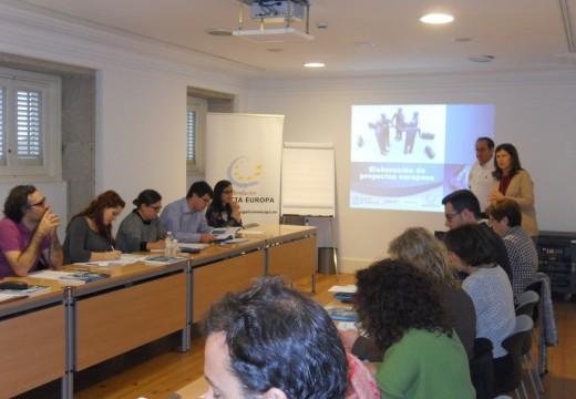 Deu comezo en Santiago o curso de elaboración e xestión de proxectos europeos organizado pola Fundación Galicia Europa