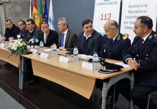 A Xunta asiste ao acto de entrega de novo material a Portugal no marco do Proxecto Ariem 112 de cooperación transfronteiriza