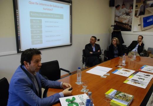 Turismo de Galicia reuniuse co colectivo de guías de Galicia para potenciar a difusión dos produtos turísticos da comunidade