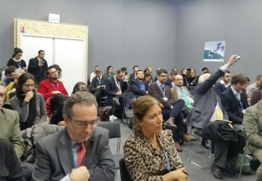 Galicia súmase ao Pacto sobre auga e cambio climático acordado no Cumio de París
