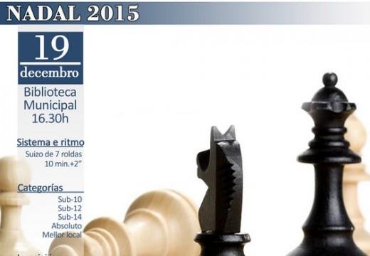 O torneo do Nadal de xadrez de Carral cumpre 15 anos