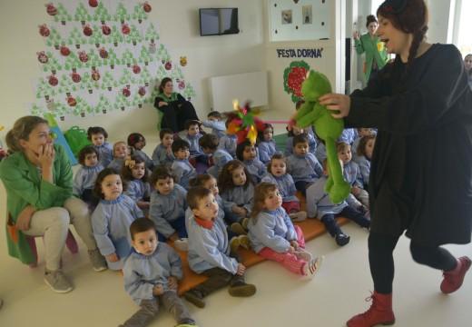 Contacontos na Escola Infantil Municipal