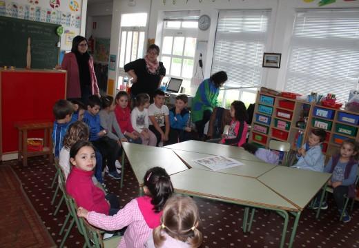 O Concello de Oroso leva a cabo un obradoiro entre 500 nenos e nenas de primaria para ensinarlles a coñecer e controlar as súas emocións