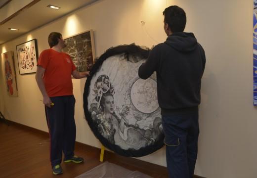 Riveira, sede da estrea en Galicia da XI Bienal de Pintura do Eixo Atlántico