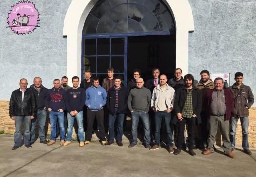 Traballadores de Tungsten San Finx celebraron a súa patroa Santa Bárbara cunha visita ao museo das minas