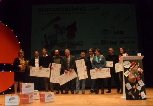 Santiago(é)Tapas entregou os seus premios nunha cita coa sabedoría da gastronomía compostelá