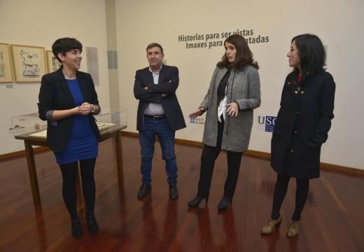 """Inauguración da exposición """"Historias para ser vistas, imaxes para ser contadas"""" no Museo do Gravado de Artes"""