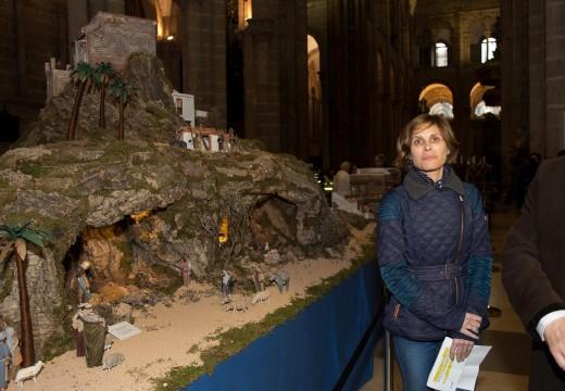 O Belén da Catedral de Santiago consolídase como un dos grandes atractivos de Galicia no Nadal