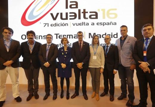 La Vuelta Ciclista, os destinos Starlight e a nova aplicación de realidade aumentada foron os puntos fortes de Galicia na primeira xornada de Fitur