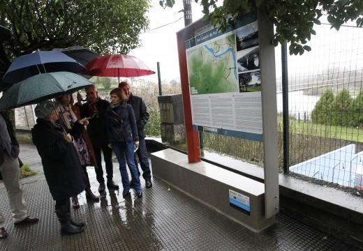 Nava Castro destaca o investimento de 1,3 millóns de euros para sinalizar e facer máis accesibles os recursos turísticos do rural