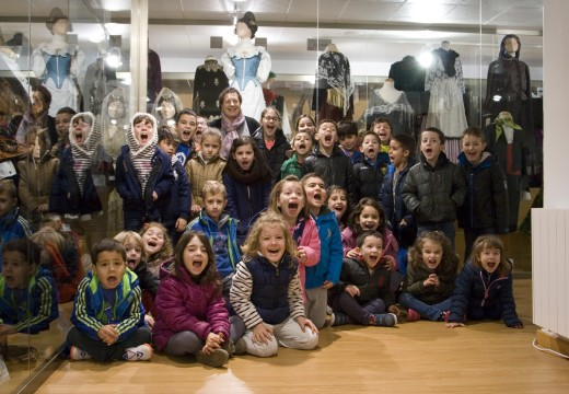 Paseo do 'Christmas Camp 2015' polo Museo do Traxe