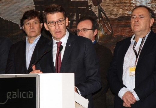 Feijóo destaca que Galicia ten como obxectivo acadar no 2016 os 5 millóns de turistas