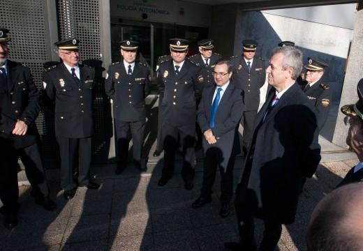 A Xunta renova o parque móbil da Policía Autonómica coa incorporación de 12 novos vehículos todoterreo