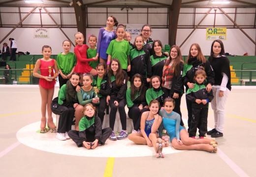 Éxito de participación no I Campionato Concello de Ordes de Patinaxe Artística