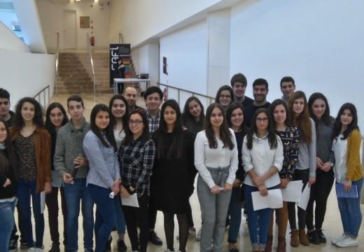 """Alumnos e alumnas do Maruxa Mallo participan no 'II Encontro de intercambio de experiencias educativas en linguas cooficiais"""""""