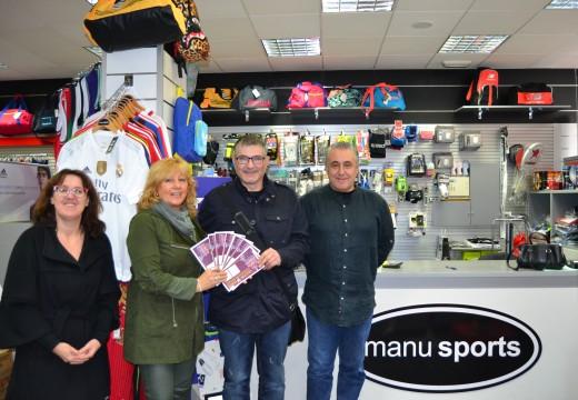 A campaña de Comercio Local de Nadal repartiu case 15.000 euros en premios directos