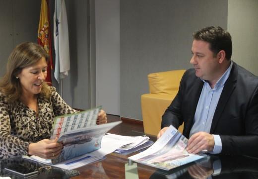 Frades solicita a colaboración de Medio Ambiente para levar o abastecemento de auga ás parroquias de Moar, Añá e Céltigos