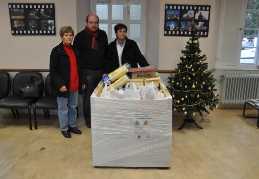 O Concello de Frades agradece a colaboración da veciñanza, que doou máis de 400 quilos de alimentos para familias necesitadas
