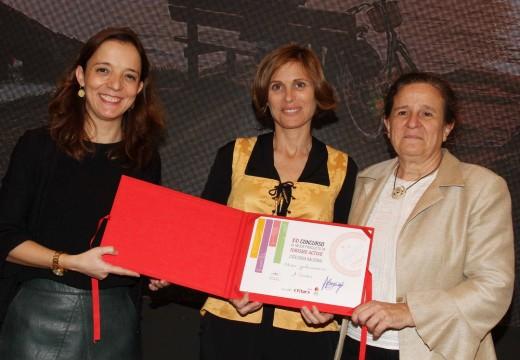 O Outono Gastronómico recibe en Fitur o premio ao Mellor Produto de Turismo Activo na modalidade de enogastronomía