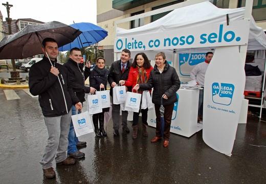 A Xunta promove o selo Galega 100% na XXXIII Edición da Festa da Filloa de Lestedo, no concello coruñés de Boqueixón