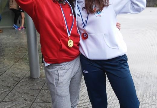 Lara López e Antía Martínez, salvadoras de campionato