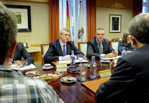 Xunta, Goberno Central e FEGAMP colaborarán para paliar os danos do temporal que afectou a Galicia hai dúas semanas
