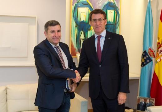 O alcalde reuniuse co presidente da Xunta para abordar as necesidades de Riveira