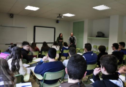 O alumnado da ESO do CPI Ponte Carreira participa esta semana nunhas charlas sobre habilidades sociais e educación emocional
