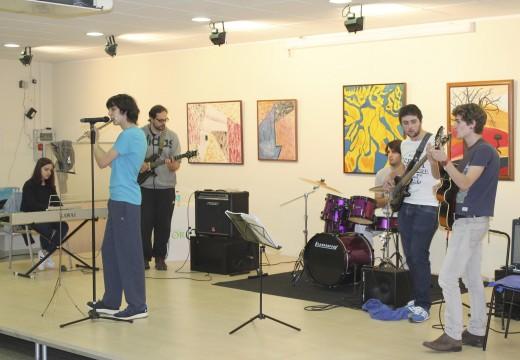 Gran debut en solitario do Combo de Rock da Aula de Música de Oroso
