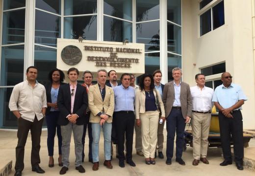 A Xunta comproba de primeira man en Cabo Verde os proxectos levados a cabo grazas ás axudas da Cooperación Galega