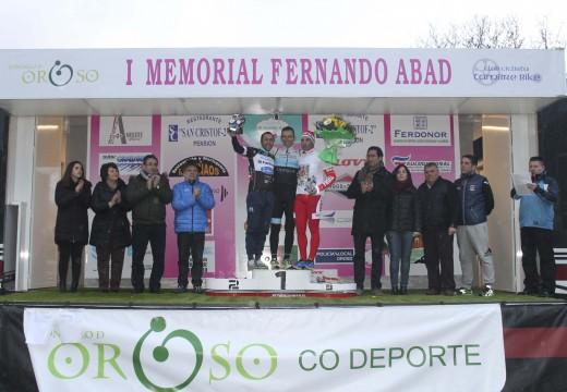 Vicente Allo gaña o primeiro Memorial Fernando Abad de ciclismo, no que participaron 77 ciclistas