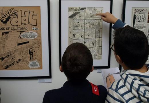 Ao redor de mil catrocentas persoas visitaron a exposición «Francisco Ibáñez, El Mago del Humor» no Museo do Humor en Fene