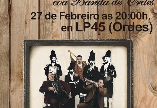 A Banda de Música de Ordes ofrece este sábado un concerto para celebrar o seu XXV aniversario