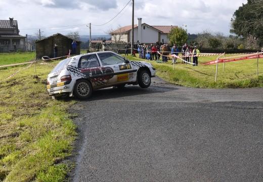 Un espectacular I RallyMix Concello de Touro atrae a numeroso público e afeccionados de toda Galicia na súa primeira xornada
