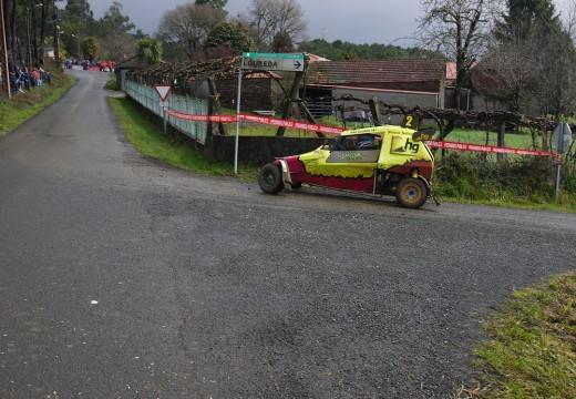 Eugenio Fernández Gabeiras, da Peña Autocross Arteixo, gaña o I RallyMix Concello de Touro