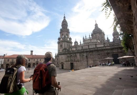 O Camiño de Santiago superou nos dous primeiros meses do ano a cifra de peregrinos rexistrada no último ano santo