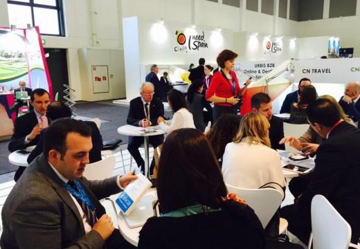 A Área Profesional de Galicia na ITB acolle hoxe numerosas reunións e encontros con turoperadores e axentes de viaxes