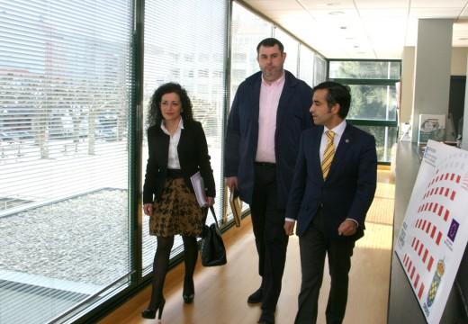 Ordes solicítalle ao conselleiro de Política Social un Centro Polivalente na súa visita ao Concello