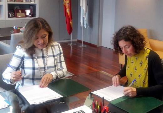 Medio Ambiente renova con ADEGA o seu convenio de colaboración para o desenvolvemento do Proxecto Ríos