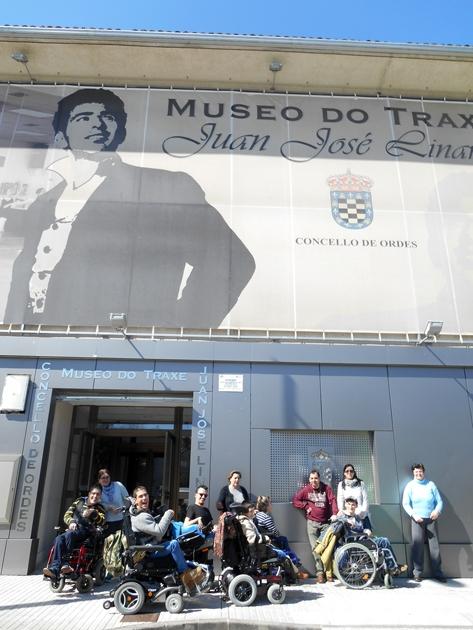 ASPACE visita o Museo do Traxe en Ordes
