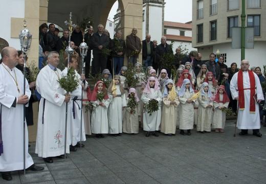 Novidoso Domingo de Ramos para dar inicio á Semana Santa de Ordes