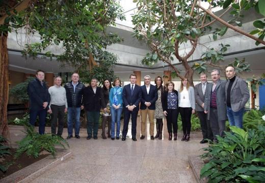 A Xunta de Galicia asina un convenio de colaboración cos concellos galegos do Camiño Francés