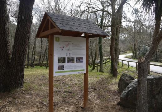 Touro sinaliza con paneis informativos e sinais de direccións os lugares de interese natural e paisaxístico do Concello