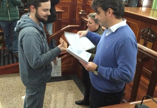 Diego Calvo clausura o obradoiro de emprego de As Pontes e anima aos mozos a continuar a súa formación
