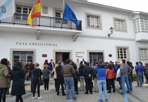 A Corporación rende homenaxe ás vítimas do atentado de Bruxelas