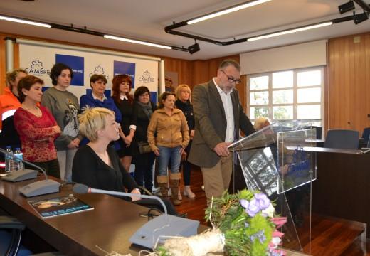 Susana Seivane e Consolación Paz presiden o acto polo Día Internacional da Muller