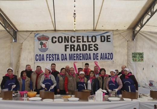 A XI Festa da Merenda de Aiazo sobreponse á choiva e reúne a centos de visitantes, que degustaron máis de 1.000 tortillas de masa