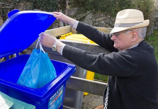 San Sadurniño amplía o proxecto de recollida do lixo porta por porta ás zonas máis elevadas do municipio