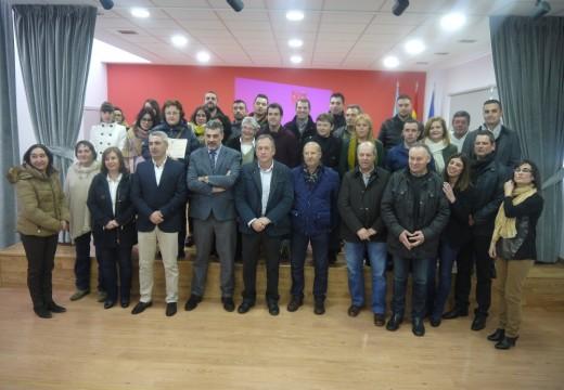 Vinte desempregados formados no 'Obradoiro de Emprego Ulla-Tambre' impulsado por Touro e O Pino, listos para incorporarse ao mercado laboral