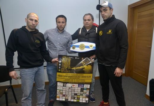 Riveira será sede das finais do Campionato Galego de Boxeo en Categoría Élite